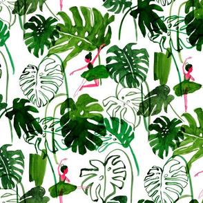 jungle valet-watercolor