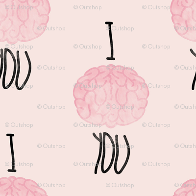 I brain (love) you in pink
