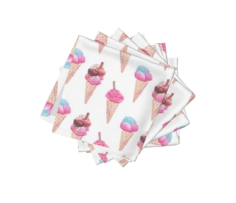icecream cones in pink
