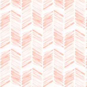 watercolor feather - pink