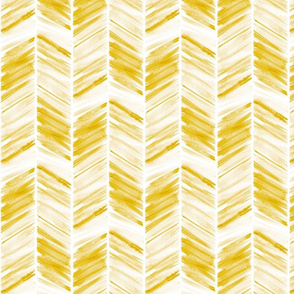 watercolor feather - gold