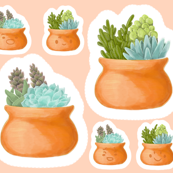 Succulent Pillows and Plushies