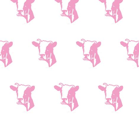 Cow fabric by studio_crema on Spoonflower - custom fabric