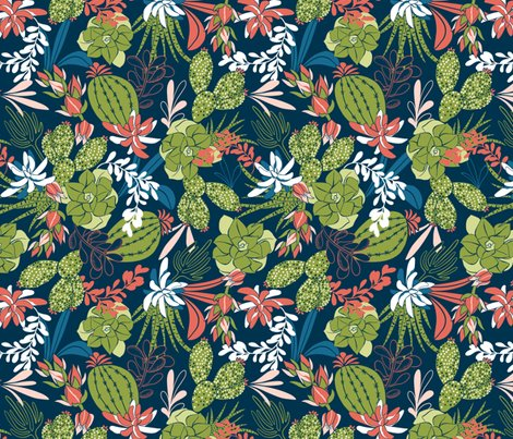 Succulent_garden_flat_navy_blue_green_300__rvsd_shop_preview