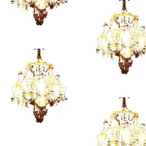 Chandelier overhead