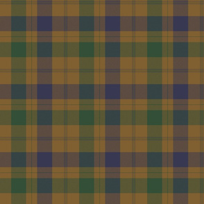 "Isabella  (MacTavish) Fraser Wedding tartan, 6"" weathered"