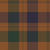 Isabella (MacTavish) Fraser Wedding tartan, original size, weathered