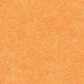 faux Hodden / wodmel fabric, creamsicle orange