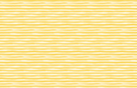 Yellow Yolk Watercolor Stripes by Friztin fabric by friztin on Spoonflower - custom fabric