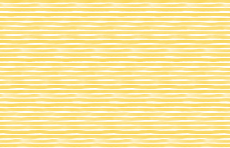 Yellow Yolk Watercolor Stripes by Friztin fabric by friztin on Spoonflower - custom fabric