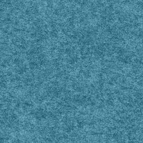 faux Hodden / wadmel fabric, ocean blue