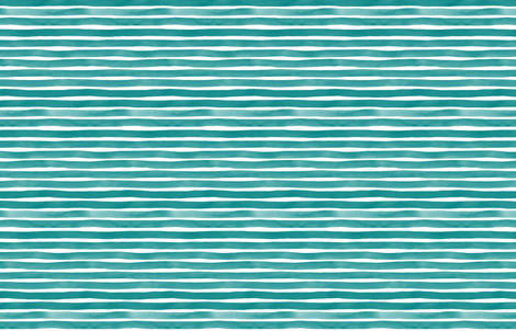 Teal Watercolor Stripes by Friztin fabric by friztin on Spoonflower - custom fabric