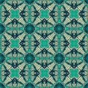 Green Fractal Star