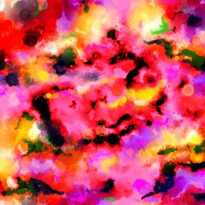 Tie dyed nebula sunrise