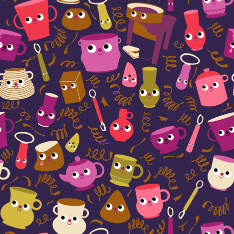 The Potter fabric by heidikenney on Spoonflower - custom fabric