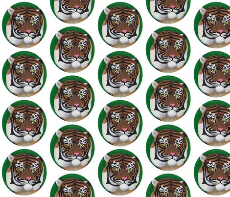 Sumatran Tiger Rokan fabric by driessa on Spoonflower - custom fabric
