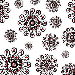 Black-n-Red_Rosette_Pattern