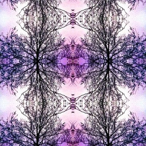 WinterTree - purple