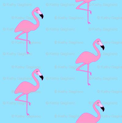 Simply Flamingos