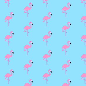 Simply Flamingos