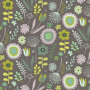 Meadow - Springtime grey