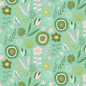 Meadow - Springtime, mint