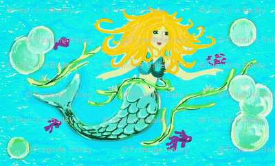 Mermaid Aurora Chime