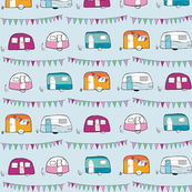 Caravans & Bunting