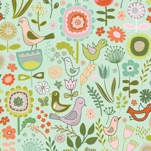 Birds & Blooms - Springtime, Sky