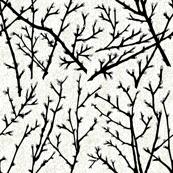 branchy - white/black/grey/foam bark