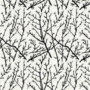 branchy - white/black/grey/foam bark