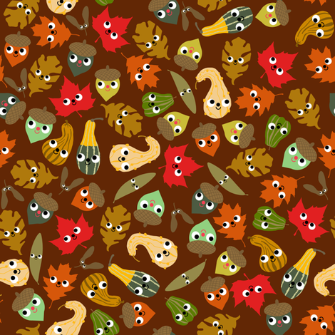 forest friends fabric by heidikenney on Spoonflower - custom fabric