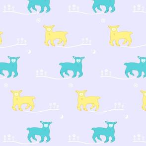 Good Night, Good Morning Lambies