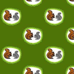 Fancy Squirrels Small
