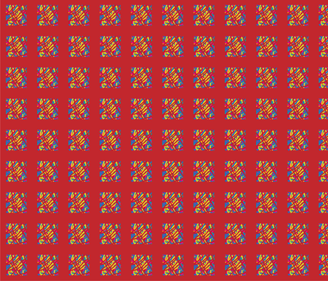 New_Tomato fabric by merrylion on Spoonflower - custom fabric