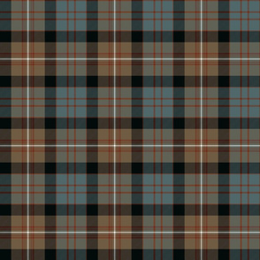 MacDonell of Glengarry tartan #2, weathered 6""