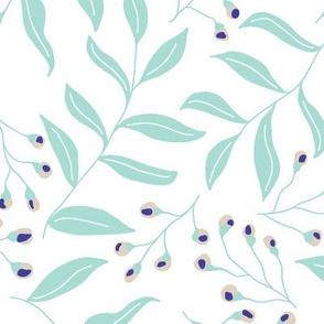 Sweet blue leafs