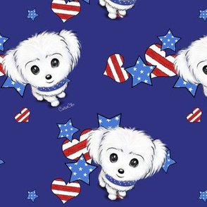 Patriotic Maltese Boy M