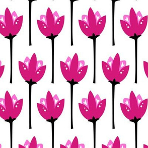 Tulip Field (Pink)