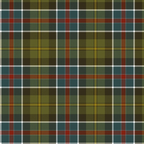 "Culloden 1746 weathered tartan, 7"""