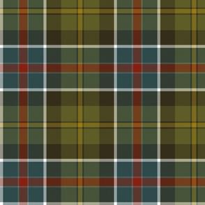 "Culloden 1746 weathered tartan, 10"""