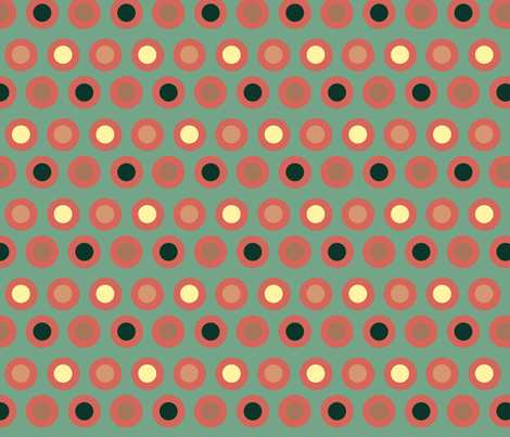 Dots (rose) fabric by chiral on Spoonflower - custom fabric