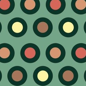 Dots (dark green)