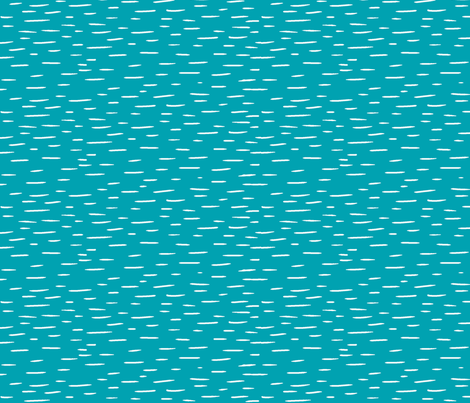 Dash - Teal fabric by sugarpinedesign on Spoonflower - custom fabric
