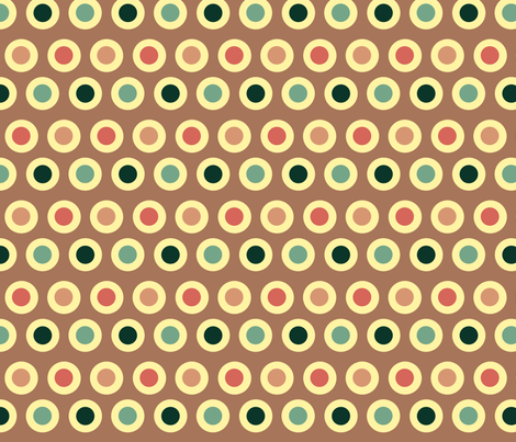 Dots (yellow) fabric by chiral on Spoonflower - custom fabric