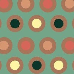 Dots (dark terracotta)