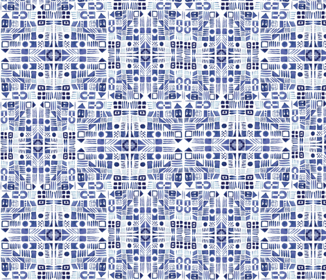 retro doodle fabric by arrpdesign on Spoonflower - custom fabric