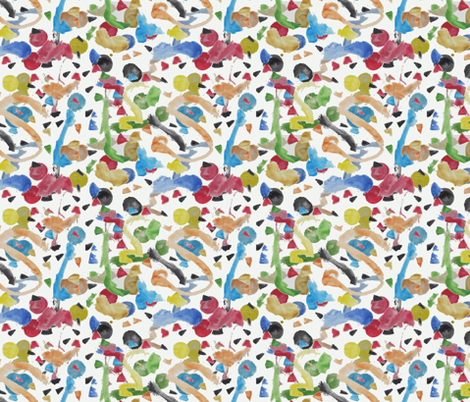 Micah's Abstract fabric by pamelachi on Spoonflower - custom fabric
