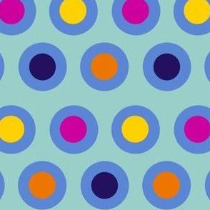 Dots (mid blue)