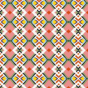 Pink Mosaic
